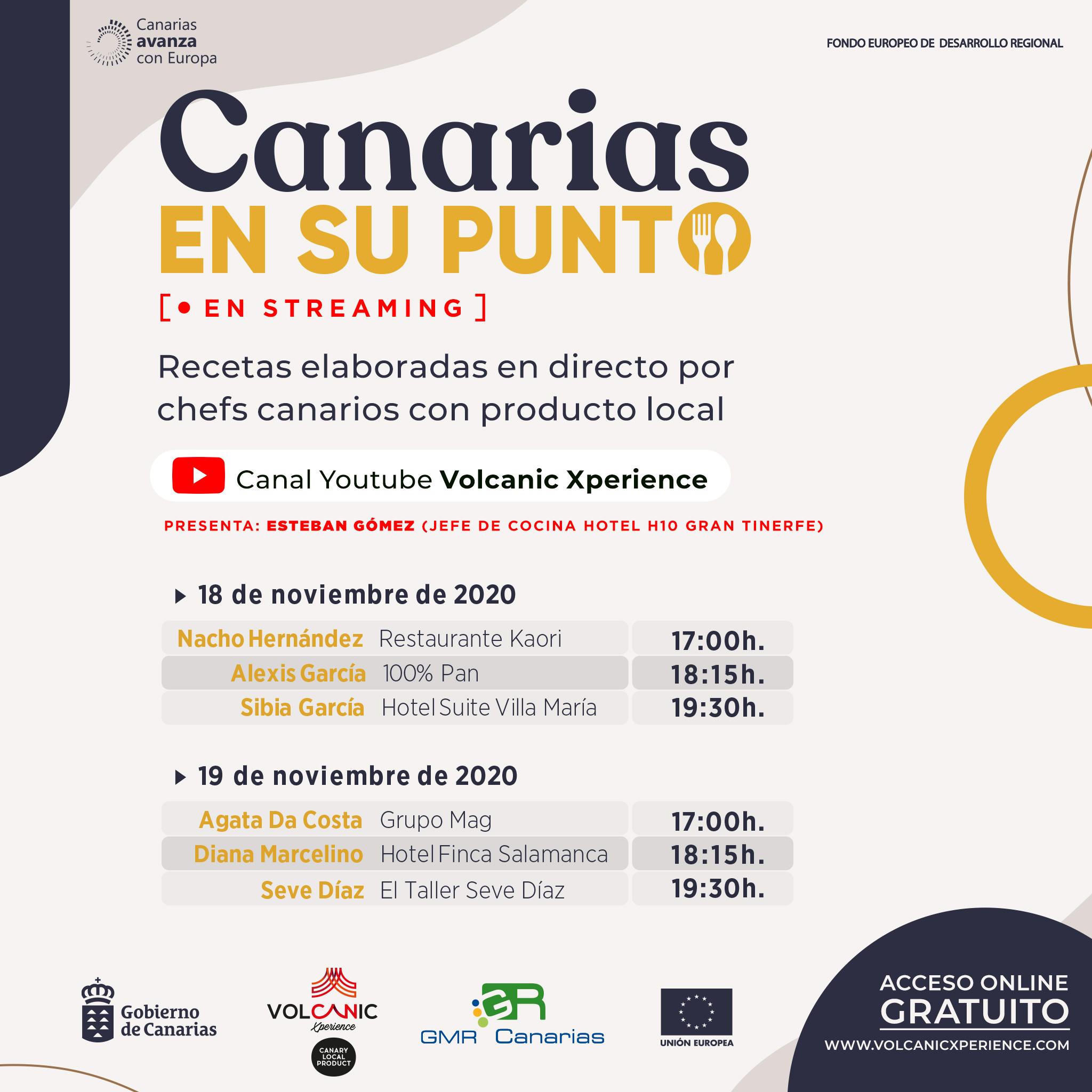 Canarias destaca el potencial de los productos de cercanía de la mano de los mejores chefs de las islas