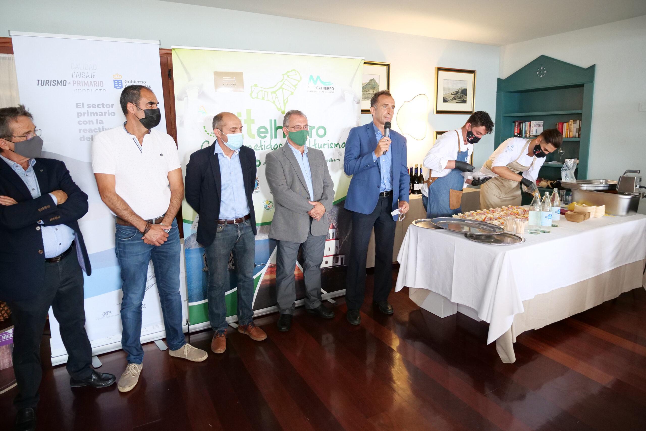 El Gobierno de Canarias impulsa el consumo de producto local en los establecimientos turísticos de El Hierro